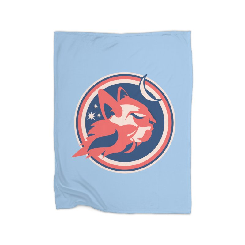Space Cats Logo (Official) Home Blanket by The Official Hectic Films Shop