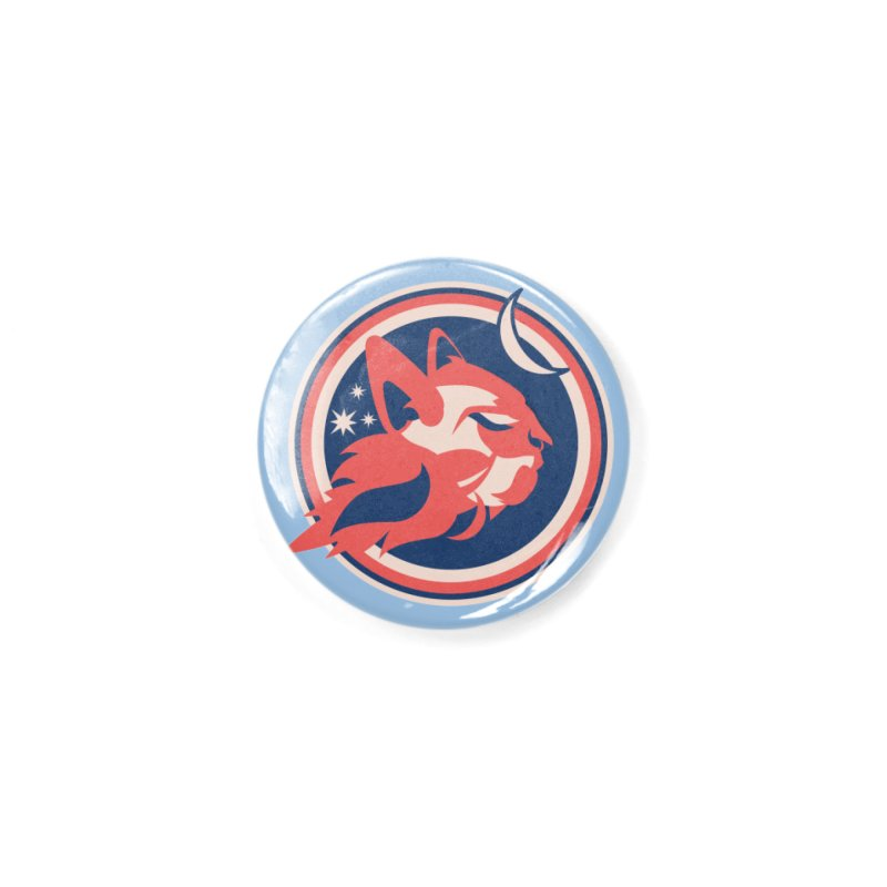 Space Cats Logo (Official) Accessories Button by The Official Hectic Films Shop