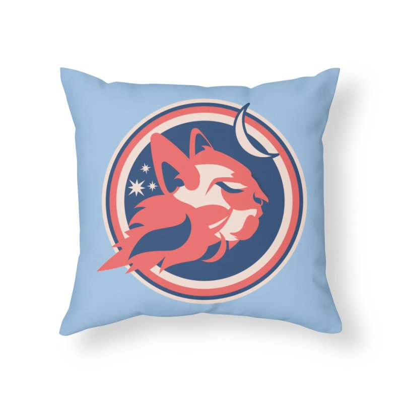 Space Cats Logo (Official) Home Throw Pillow by The Official Hectic Films Shop
