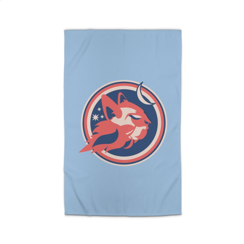 Space Cats Logo (Official) Home Rug by The Official Hectic Films Shop