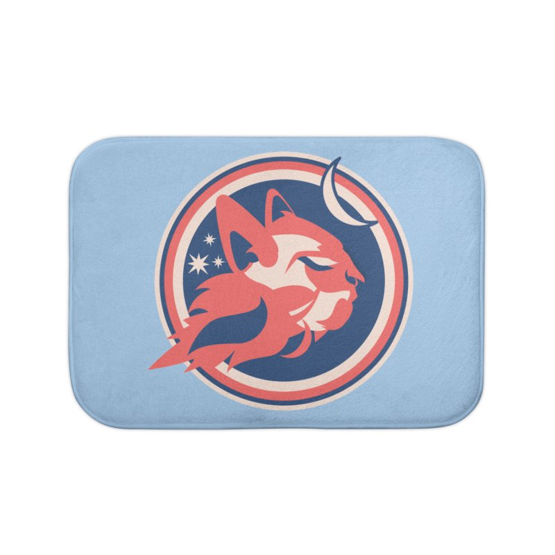 Space Cats Logo (Official) Home Bath Mat by The Official Hectic Films Shop
