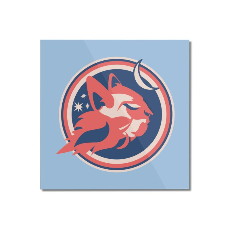 Space Cats Logo (Official) Home Mounted Acrylic Print by The Official Hectic Films Shop