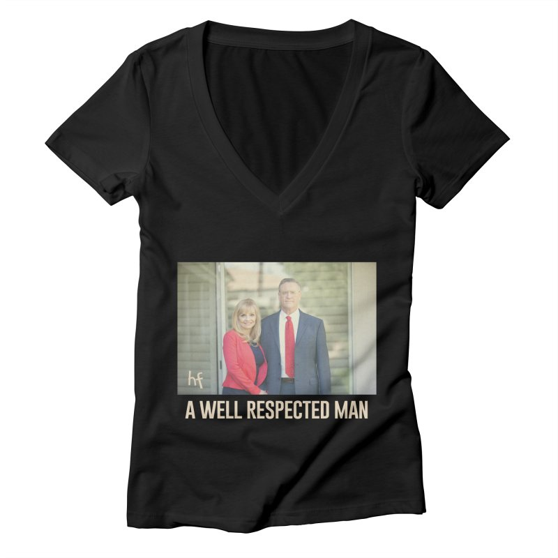 A Well Respected Man Short Film - May 2020 Limited Women's V-Neck by The Official Hectic Films Shop