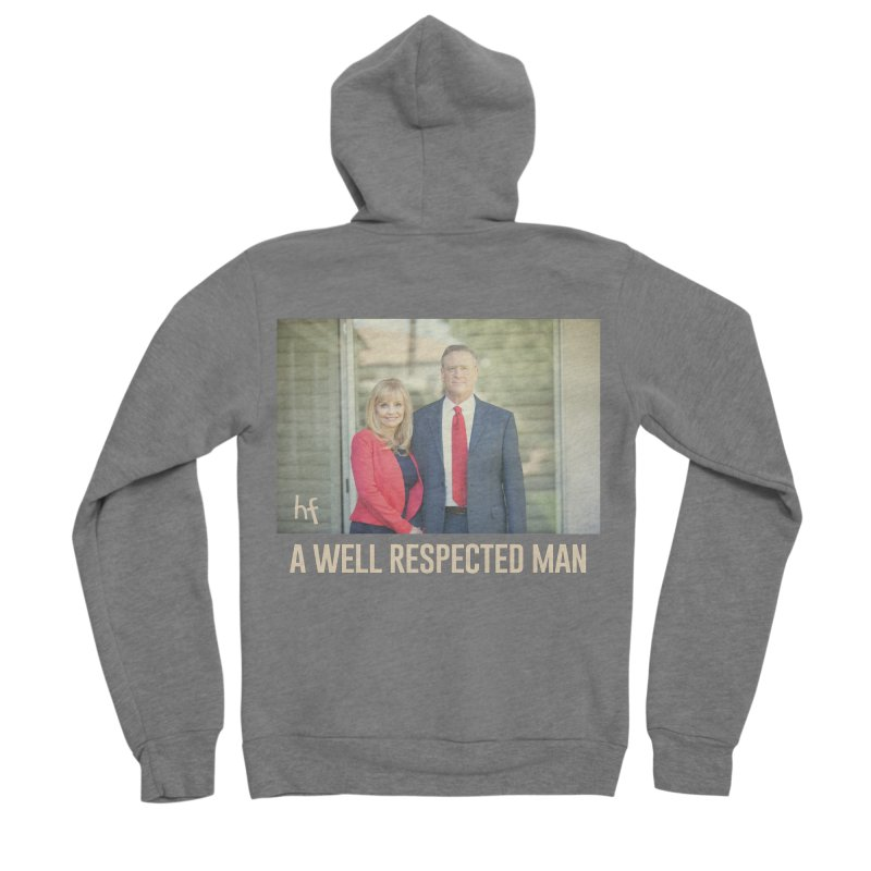 A Well Respected Man Short Film - May 2020 Limited Women's Zip-Up Hoody by The Official Hectic Films Shop