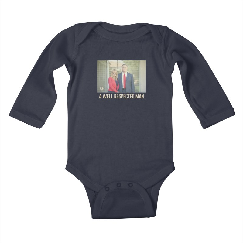 A Well Respected Man Short Film - May 2020 Limited Kids Baby Longsleeve Bodysuit by The Official Hectic Films Shop