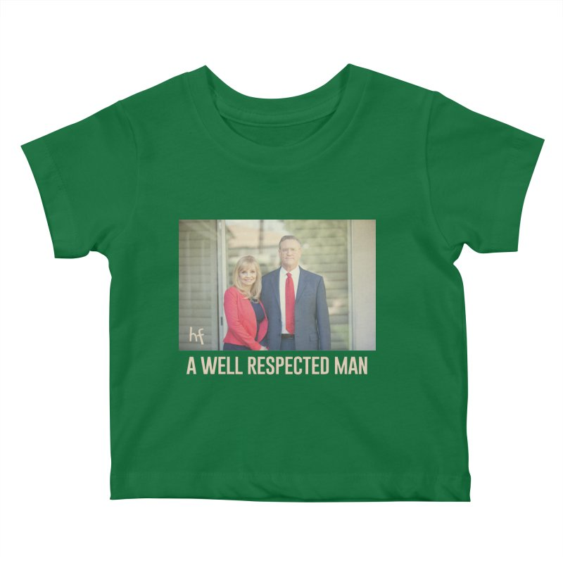 A Well Respected Man Short Film - May 2020 Limited Kids Baby T-Shirt by The Official Hectic Films Shop