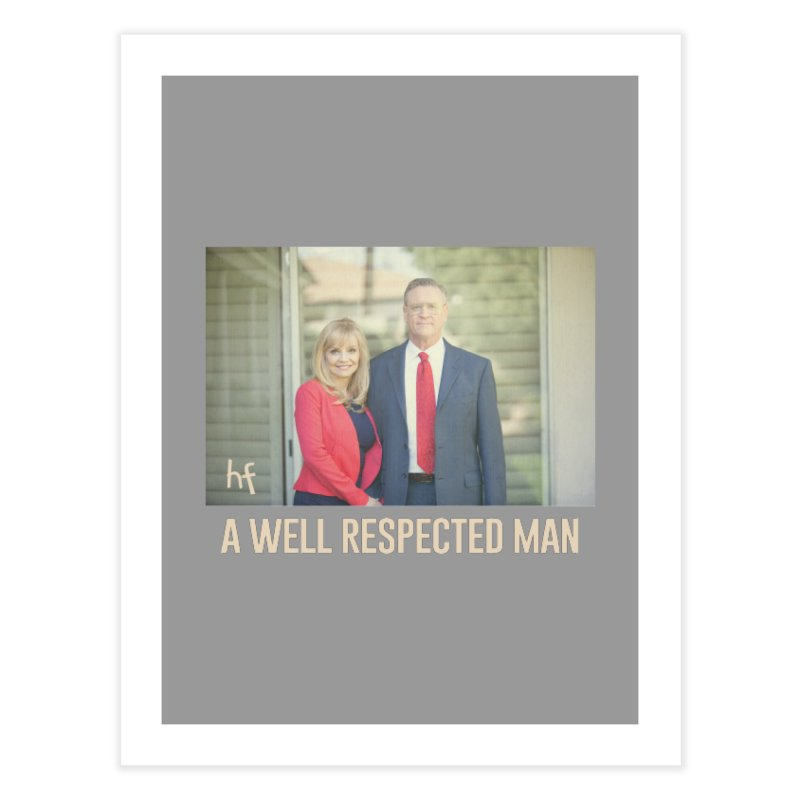 A Well Respected Man Short Film - May 2020 Limited Home Fine Art Print by The Official Hectic Films Shop
