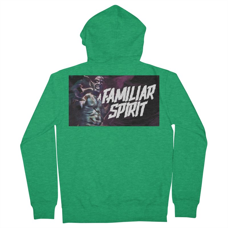 A Familiar Spirit - T-Shirt Women's Zip-Up Hoody by The Official Hectic Films Shop
