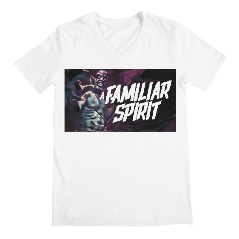 A Familiar Spirit - T-Shirt Men's V-Neck by The Official Hectic Films Shop