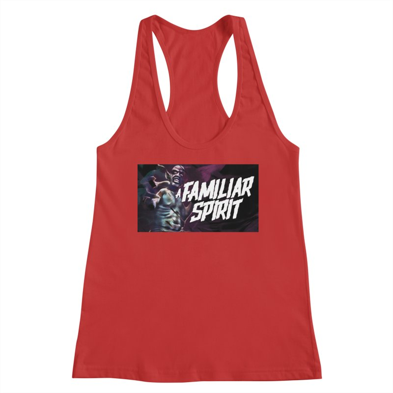 A Familiar Spirit - T-Shirt Women's Tank by The Official Hectic Films Shop