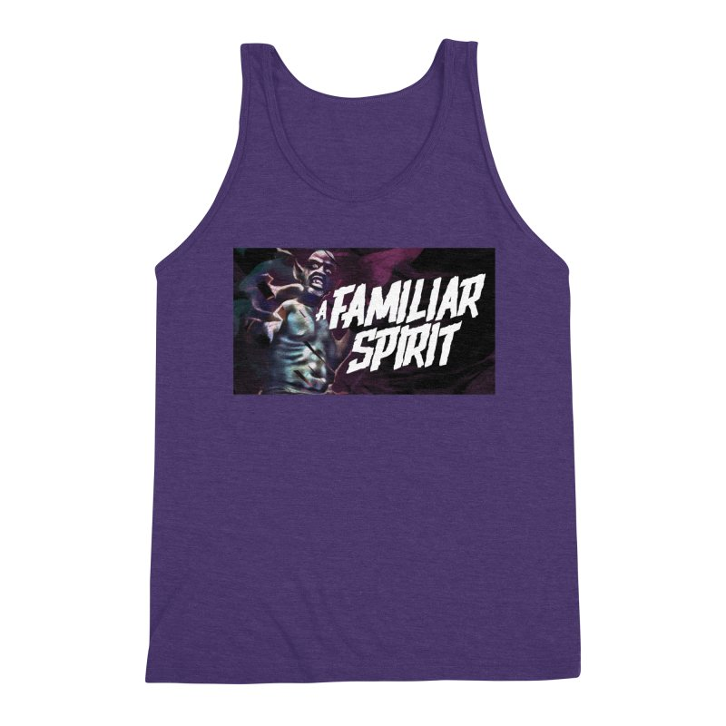 A Familiar Spirit - T-Shirt Men's Tank by The Official Hectic Films Shop
