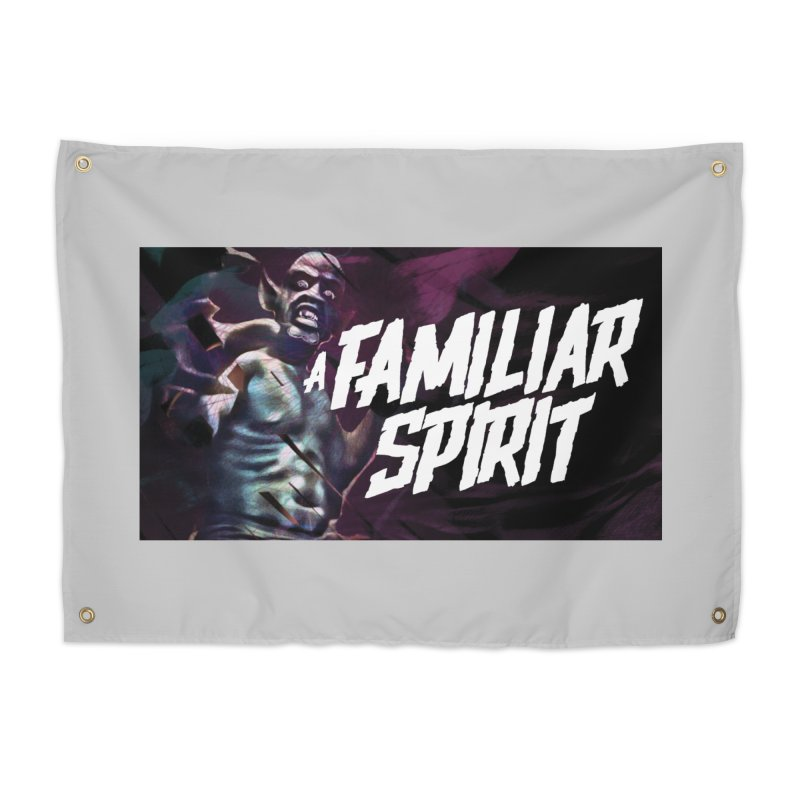 A Familiar Spirit - T-Shirt Home Tapestry by The Official Hectic Films Shop