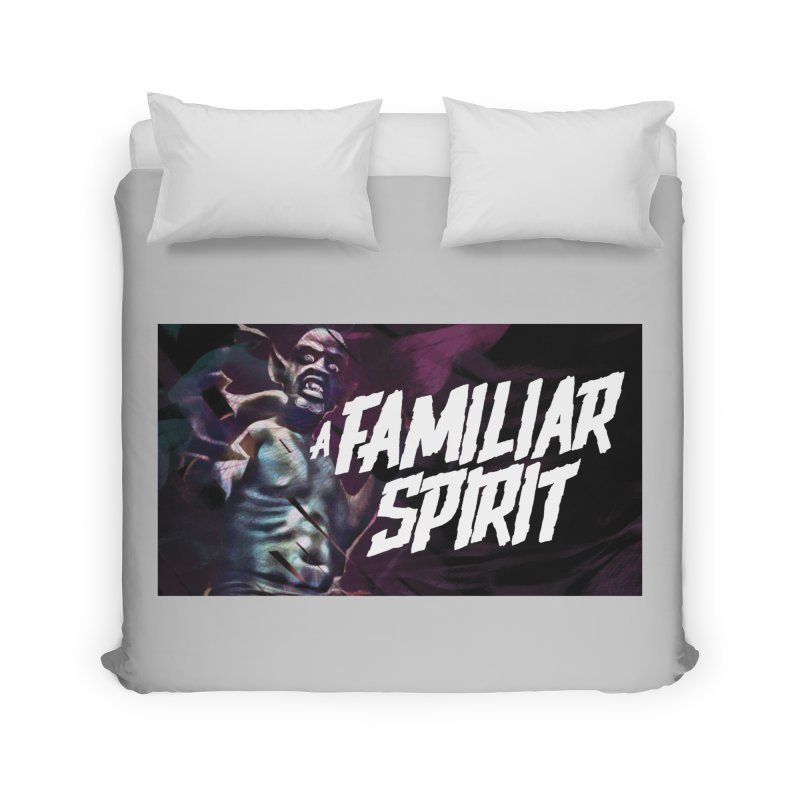 A Familiar Spirit - T-Shirt Home Duvet by The Official Hectic Films Shop