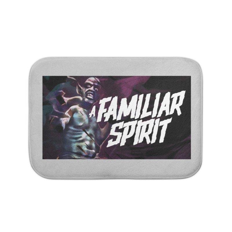 A Familiar Spirit - T-Shirt Home Bath Mat by The Official Hectic Films Shop