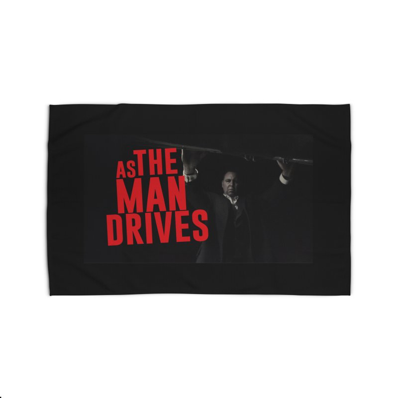 As The Man Drives - T-shirt Home Rug by The Official Hectic Films Shop