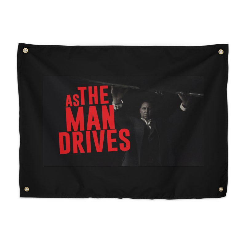 As The Man Drives - T-shirt Home Tapestry by The Official Hectic Films Shop