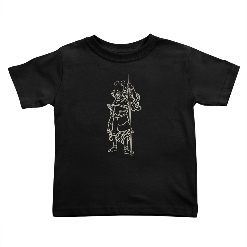 Rat Warrior - Chinese Zodiac Kids Toddler T-Shirt by Heidi2524's Artist Shop