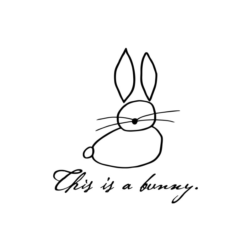This is a bunny. by Heidi2524's Artist Shop
