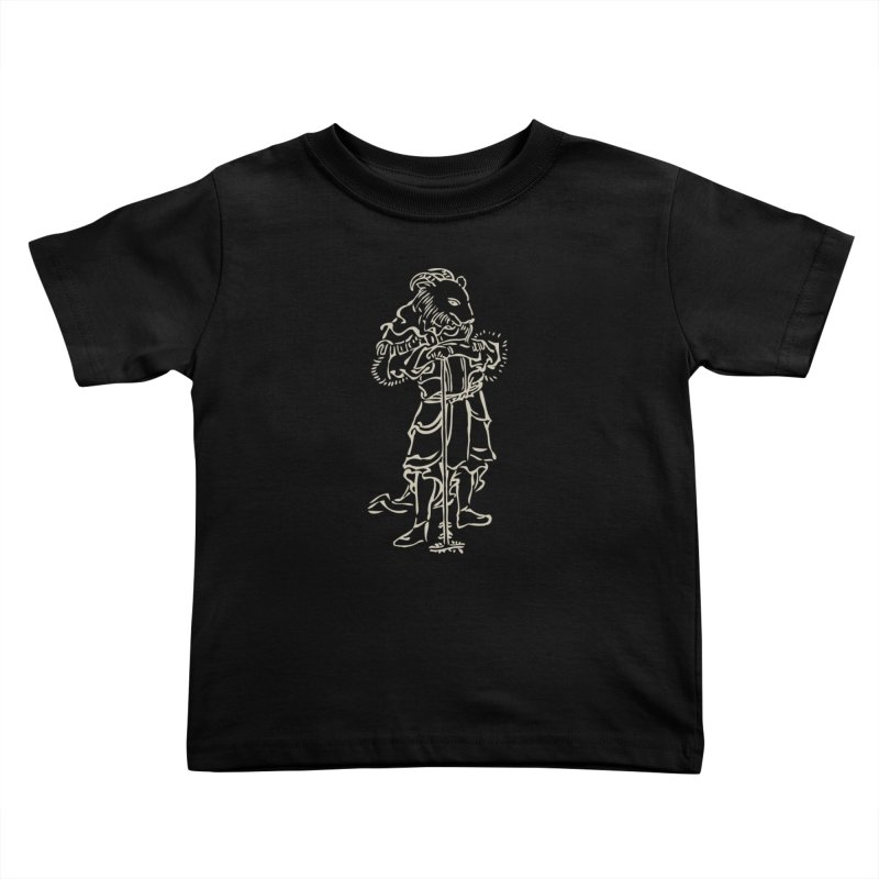 Goat Warrior - Chinese Zodiac Kids Toddler T-Shirt by Heidi2524's Artist Shop