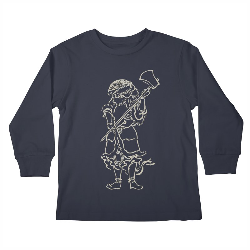 Snake Warrior - Chinese Zodiac Kids Longsleeve T-Shirt by Heidi2524's Artist Shop