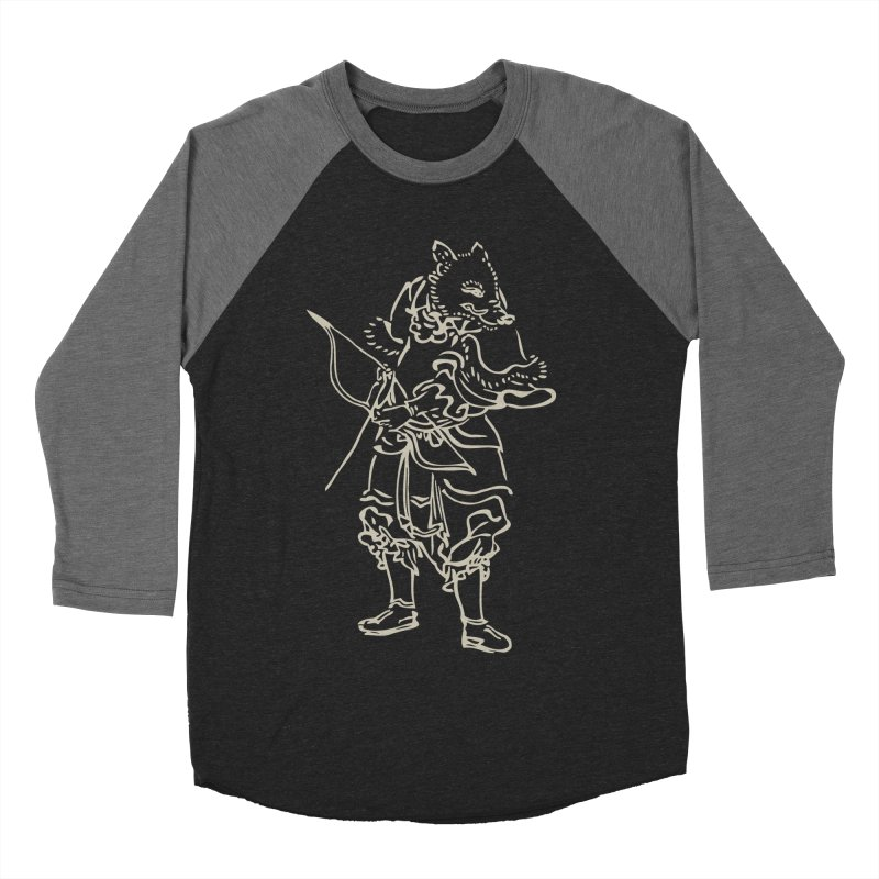 Pig Warrior - Chinese Zodiac Women's Baseball Triblend Longsleeve T-Shirt by Heidi2524's Artist Shop