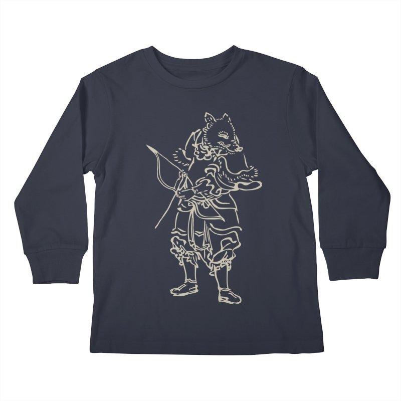 Pig Warrior - Chinese Zodiac Kids Longsleeve T-Shirt by Heidi2524's Artist Shop
