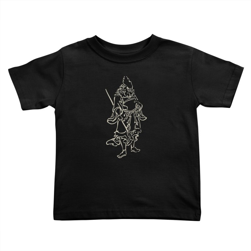 Rooster Warrior - Chinese Zodiac Kids Toddler T-Shirt by Heidi2524's Artist Shop