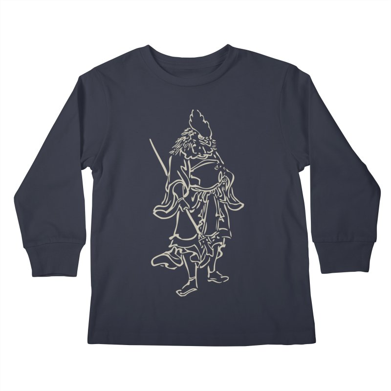 Rooster Warrior - Chinese Zodiac Kids Longsleeve T-Shirt by Heidi2524's Artist Shop