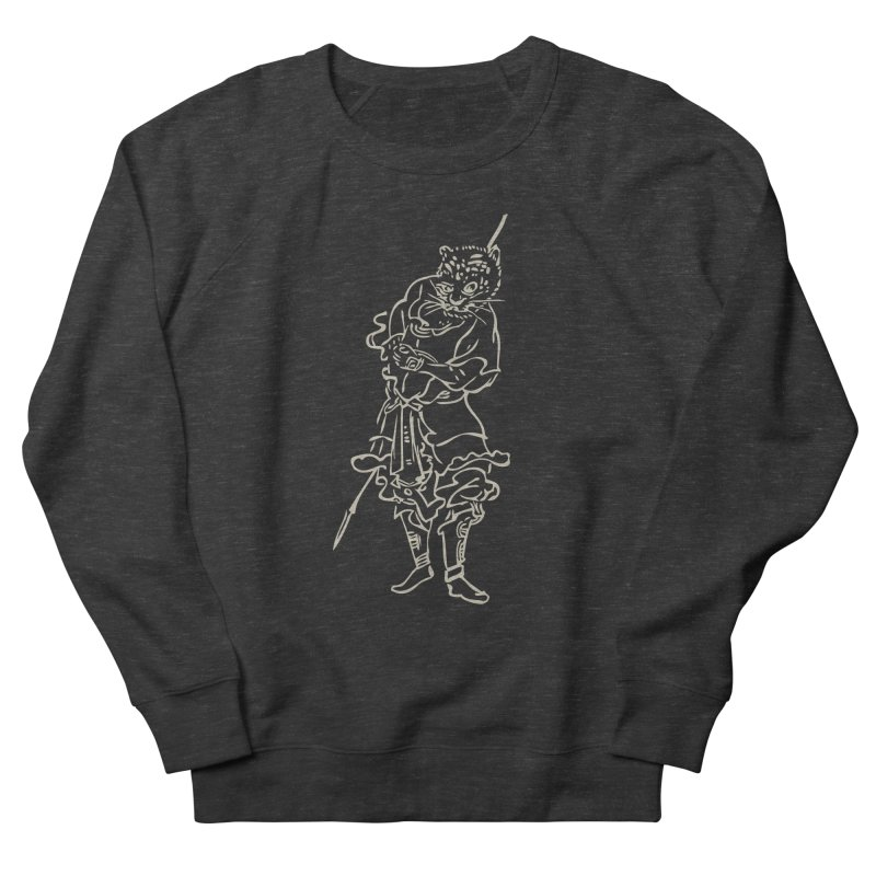 Tiger Warrior - Chinese Zodiac Women's French Terry Sweatshirt by Heidi2524's Artist Shop