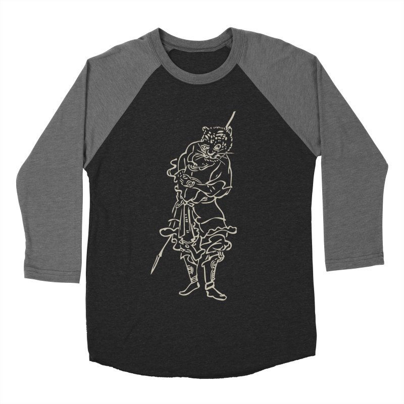 Tiger Warrior - Chinese Zodiac Women's Baseball Triblend Longsleeve T-Shirt by Heidi2524's Artist Shop