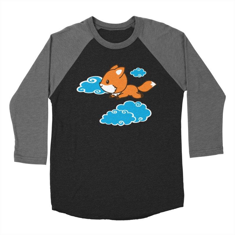 Flying Fox Women's Baseball Triblend Longsleeve T-Shirt by Heidi2524's Artist Shop