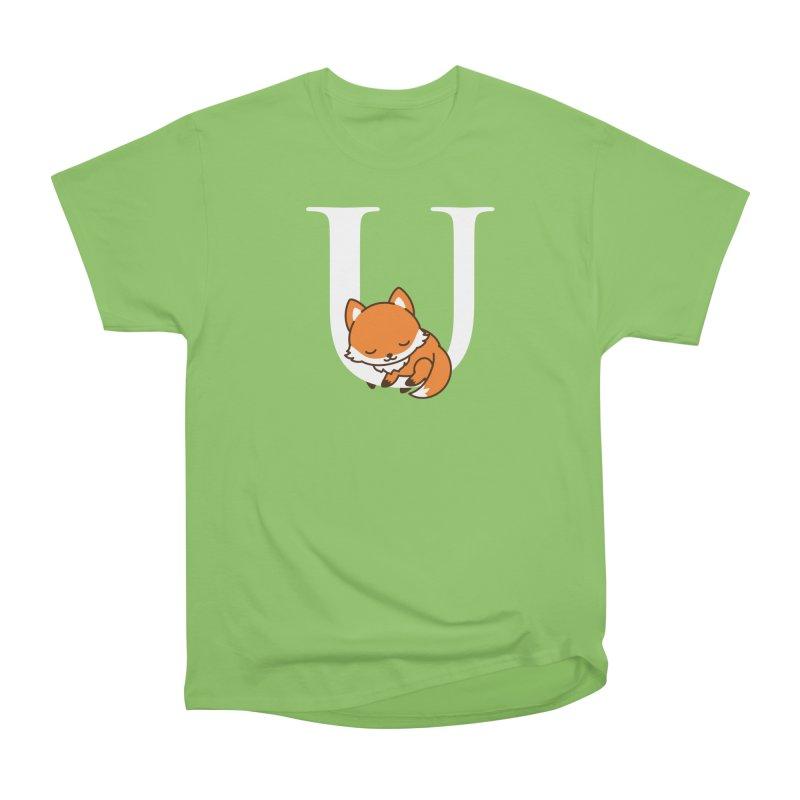 Fox U Women's Heavyweight Unisex T-Shirt by Heidi2524's Artist Shop