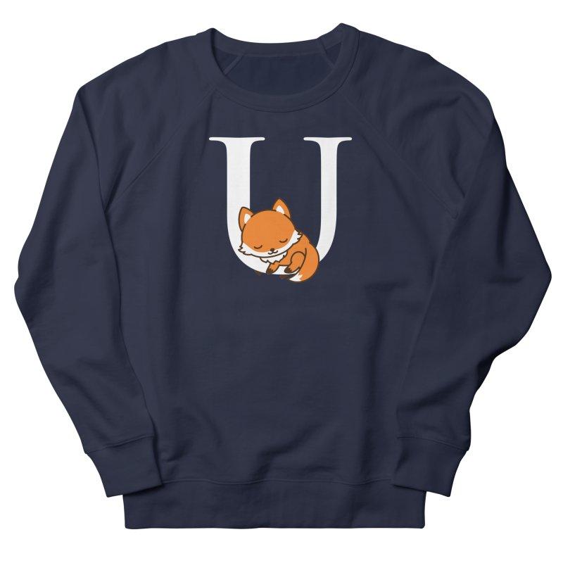 Fox U Women's French Terry Sweatshirt by Heidi2524's Artist Shop