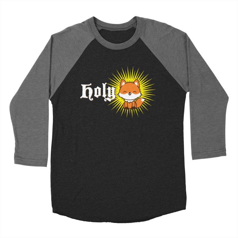 Holy Fox Women's Baseball Triblend Longsleeve T-Shirt by Heidi2524's Artist Shop