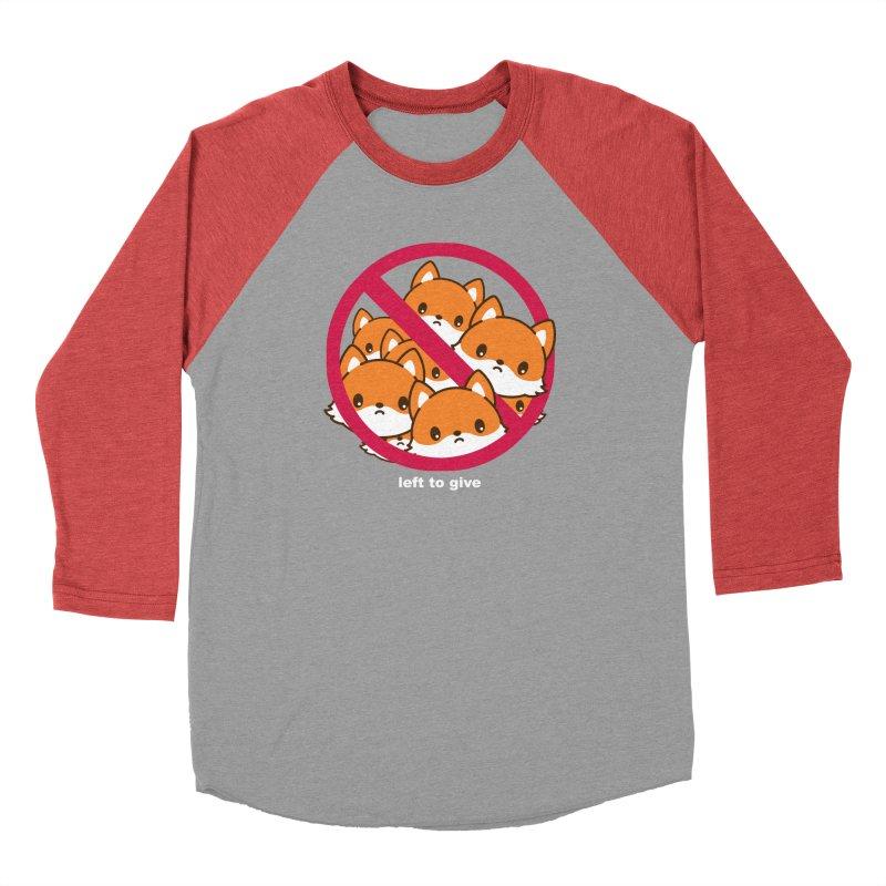 No Fox Left To Give Women's Baseball Triblend Longsleeve T-Shirt by Heidi2524's Artist Shop