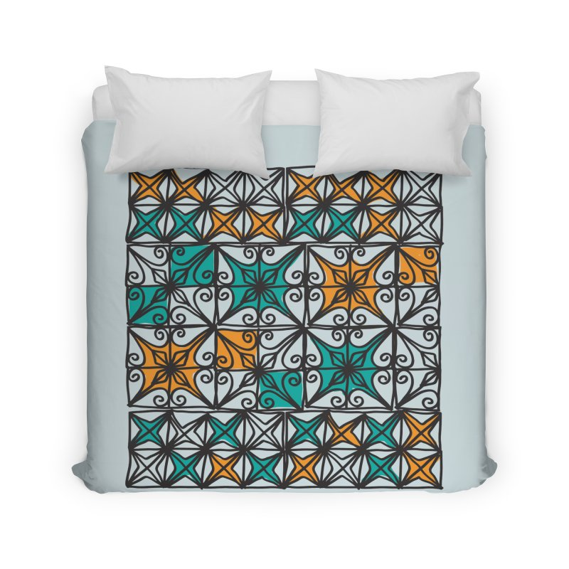 Rincon Fences SQUARE Home Duvet by heidig's Shop