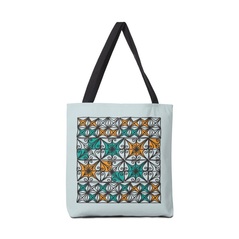 Rincon Fences SQUARE Accessories Bag by heidig's Shop