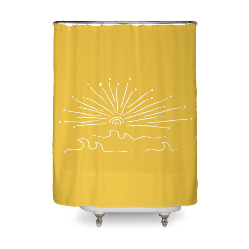 SUNSHINE large Home Shower Curtain by heidig's Shop