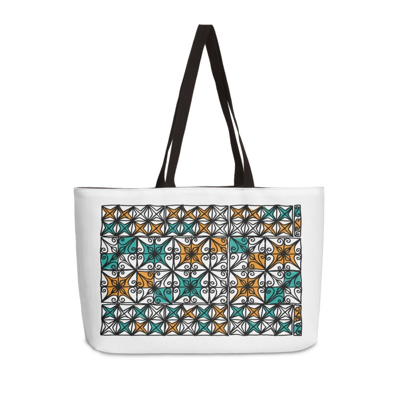 Rincon Fence White Accessories Weekender Bag Bag by heidig's Shop