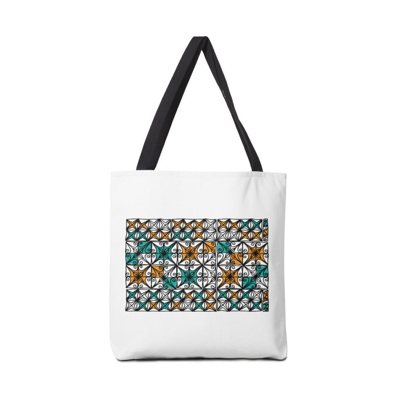 Rincon Fence White Accessories Bag by heidig's Shop