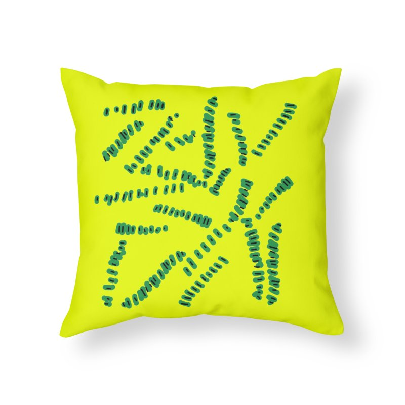 Bigger Beens Home Throw Pillow by heidig's Shop