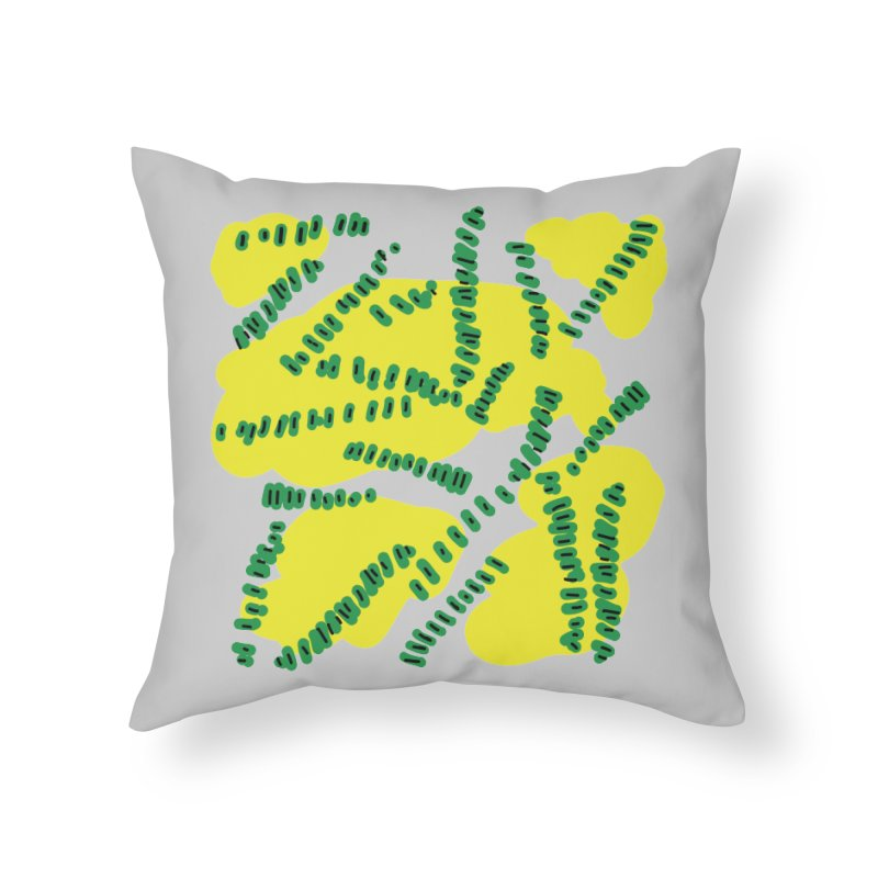 Beens with Mustard in Throw Pillow by heidig's Shop