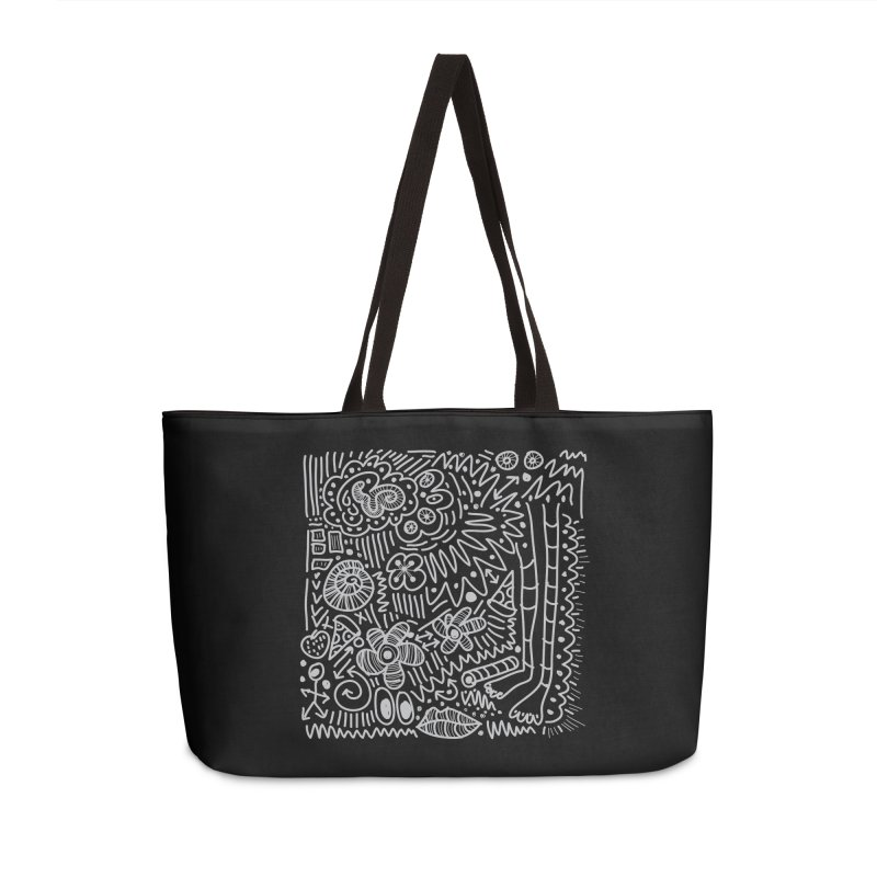 Doodle Therapy Accessories Weekender Bag Bag by heidig's Shop