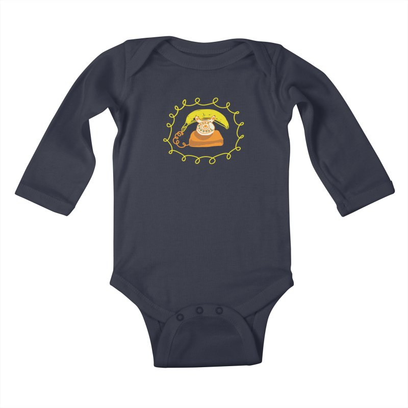 Keep Talking Kids Baby Longsleeve Bodysuit by heidig's Shop