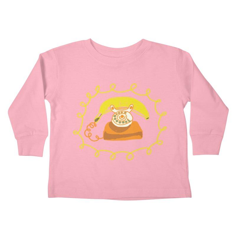 Keep Talking Kids Toddler Longsleeve T-Shirt by heidig's Shop