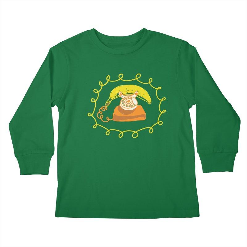 Keep Talking Kids Longsleeve T-Shirt by heidig's Shop