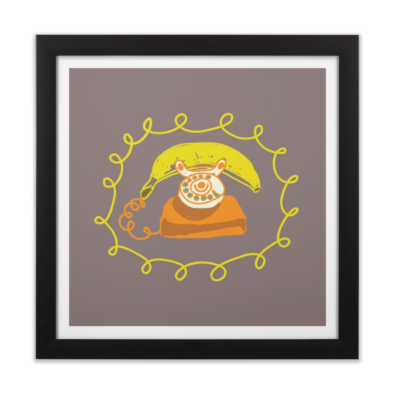 Keep Talking Home Framed Fine Art Print by heidig's Shop