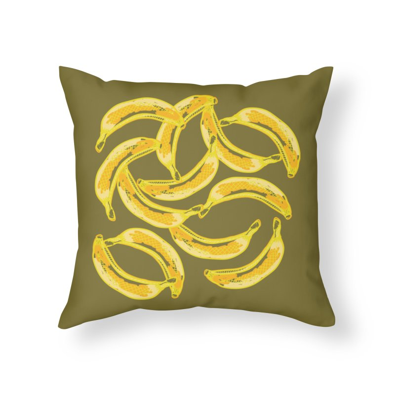 Do you have any Bananas you don't want? Really? in Throw Pillow by heidig's Shop