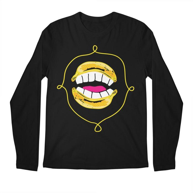 Banana Rhetoric Men's Regular Longsleeve T-Shirt by heidig's Shop