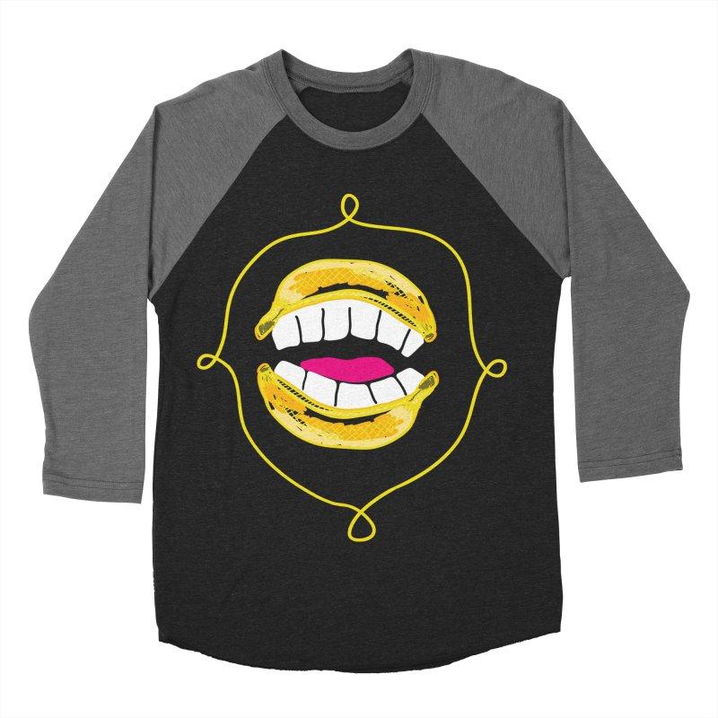 Banana Rhetoric Men's Baseball Triblend Longsleeve T-Shirt by heidig's Shop